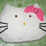 Hello Kitty andlit
