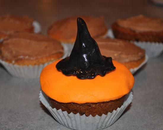 Hrekkjavöku muffins
