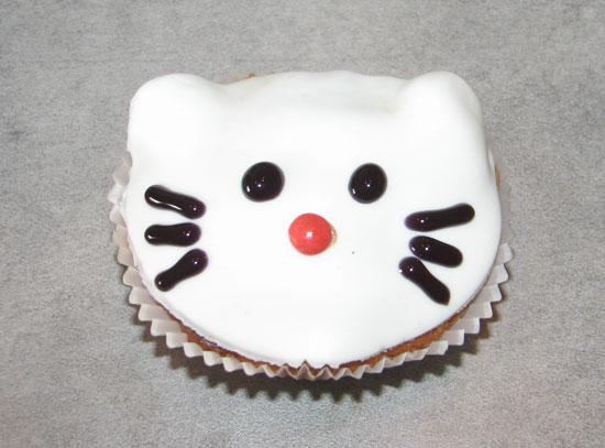 Hello Kitty bollakökur