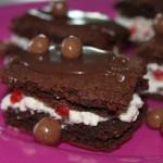 Jarðarberja brownies