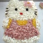 Hello Kitty brauðterta